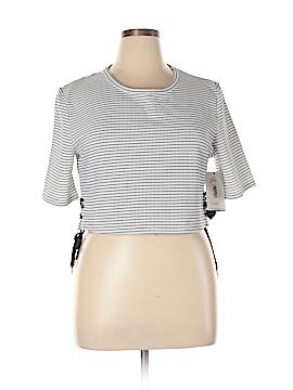 Fashion Union Short Sleeve Top Size 14