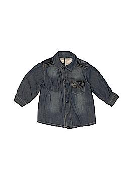 Kardashian Kids Long Sleeve Button-Down Shirt Size 3 mo