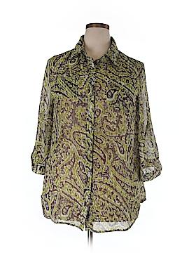 Avenue 3/4 Sleeve Blouse Size 18/20 Plus (Plus)