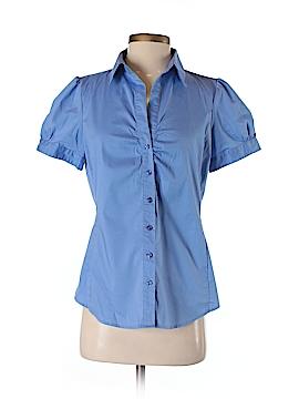 Ann Taylor Factory Short Sleeve Button-Down Shirt Size 4