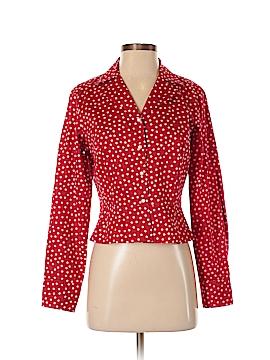 Jones New York Signature Long Sleeve Button-Down Shirt Size M (Petite)