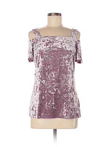 INC International Concepts Short Sleeve Top Size M