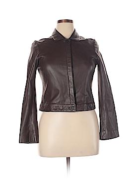 BCBGMAXAZRIA Leather Jacket Size 10