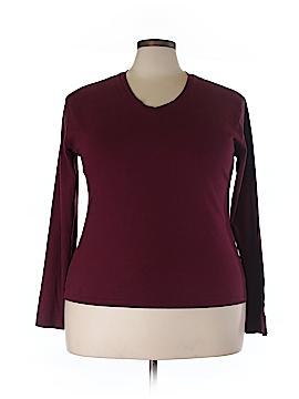 Jennifer Lauren Long Sleeve T-Shirt Size 3X (Plus)