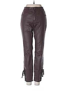 Pilcro and The Letterpress Faux Leather Pants 27 Waist (Petite)