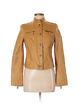 W by Worth Leather Jacket Size 4