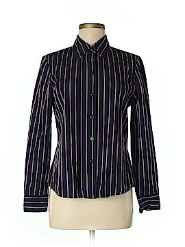Alfani Long Sleeve Button-Down Shirt Size 10