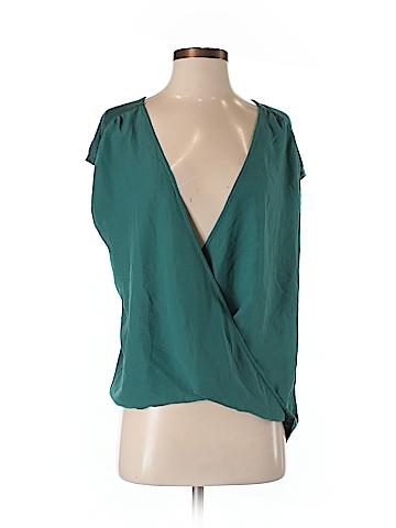 Halogen Short Sleeve Blouse Size S