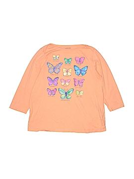 Lands' End 3/4 Sleeve T-Shirt Size 16