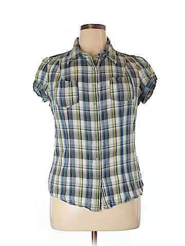 Arizona Jean Company Short Sleeve Button-Down Shirt Size XL