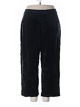 Just My Size Velour Pants Size 4X (Plus)