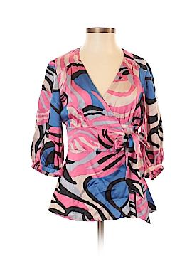 Tibi 3/4 Sleeve Silk Top Size XS