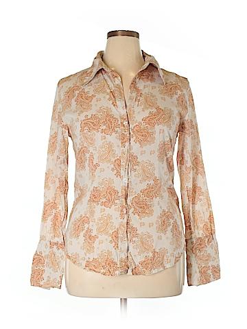 Daytrip Long Sleeve Button-Down Shirt Size XL