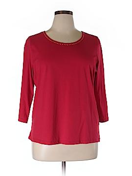 Company Ellen Tracy 3/4 Sleeve Top Size 1X (Plus)