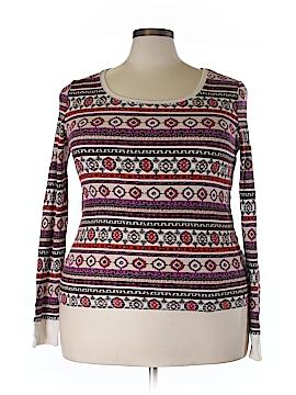 Faded Glory Long Sleeve T-Shirt Size 2X (Plus)