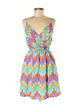 Peach Love Cream California Casual Dress Size M