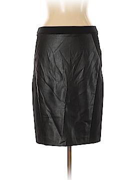 Ann Taylor LOFT Faux Leather Skirt Size 10