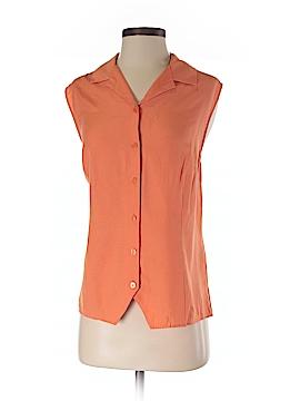 Karen Scott Short Sleeve Button-Down Shirt Size XL