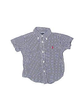 Ralph Lauren Short Sleeve Button-Down Shirt Size 12 mo