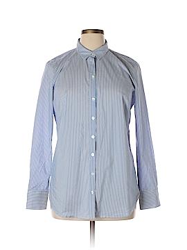 Ann Taylor Long Sleeve Button-Down Shirt Size 16