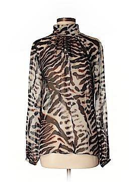 Worth New York Long Sleeve Silk Top Size S
