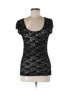 Crystal K Short Sleeve Top Size M