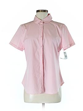 DKNY Short Sleeve Button-Down Shirt Size 12