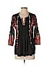 Ranna Gill Women 3/4 Sleeve Blouse Size XS