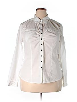 Vintage DCC Long Sleeve Button-Down Shirt Size XL
