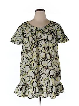 Simply Vera Vera Wang Short Sleeve Blouse Size XL