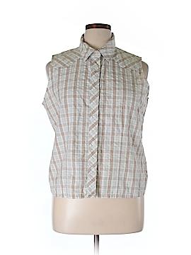 Genuine Sonoma Jean Company Short Sleeve Button-Down Shirt Size XL