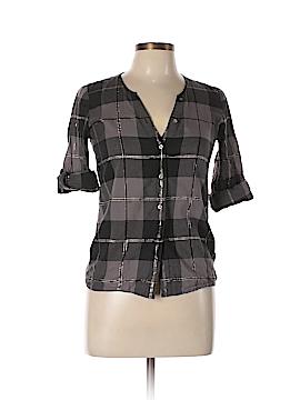 Eliot 3/4 Sleeve Button-Down Shirt Size XS