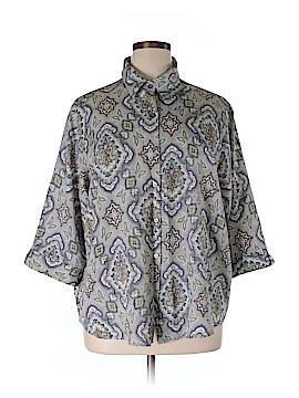 BonWorth 3/4 Sleeve Blouse Size 1X (Plus)