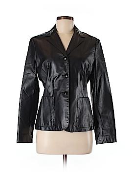 Nine West Leather Jacket Size 6