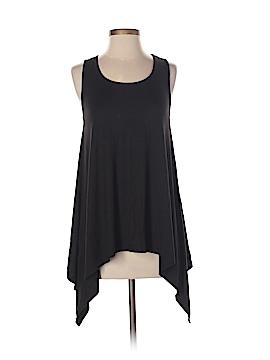 Whitewash Sleeveless T-Shirt Size S