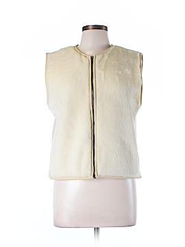 Banana Republic Faux Fur Vest Size L