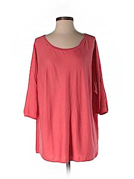 Garnet Hill Silk Pullover Sweater Size S