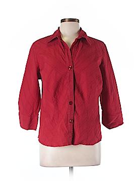Fashion Bug Long Sleeve Button-Down Shirt Size L