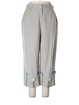 Harve Benard by Benard Holtzman Linen Pants Size 16
