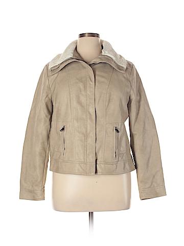 DressBarn Faux Leather Jacket Size XL