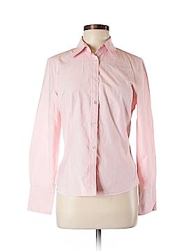 Charles Tyrwhitt Long Sleeve Button-Down Shirt Size L