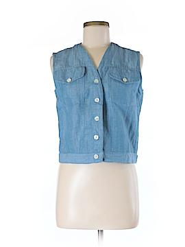 British Khaki Vest Size 8