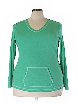 Lizwear by Liz Claiborne Thermal Top Size XXL