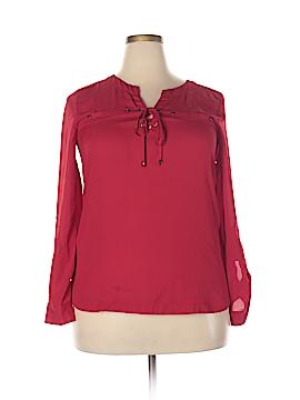 My Michelle Long Sleeve Blouse Size XL