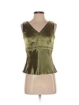 Alfani Sleeveless Silk Top Size 4 (Petite)