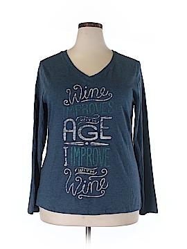 Kohl's Long Sleeve T-Shirt Size XXL