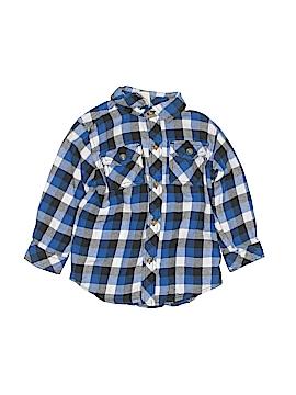 Crazy 8 Long Sleeve Button-Down Shirt Size 2