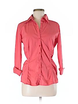New York & Company 3/4 Sleeve Top Size M