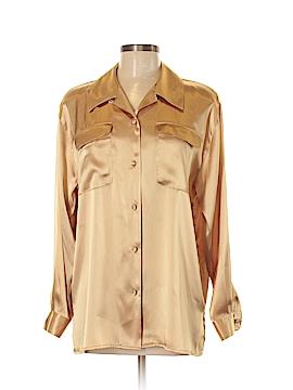 Karen Scott Long Sleeve Button-Down Shirt Size M
