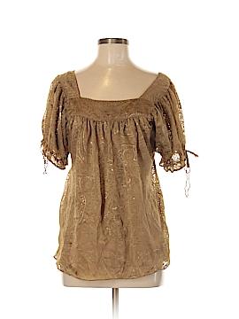 Nicole Miller Short Sleeve Blouse Size 8